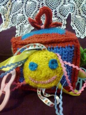 Мягкая игрушка-развивайка для малышей в Санкт-Петербурге Фото 1