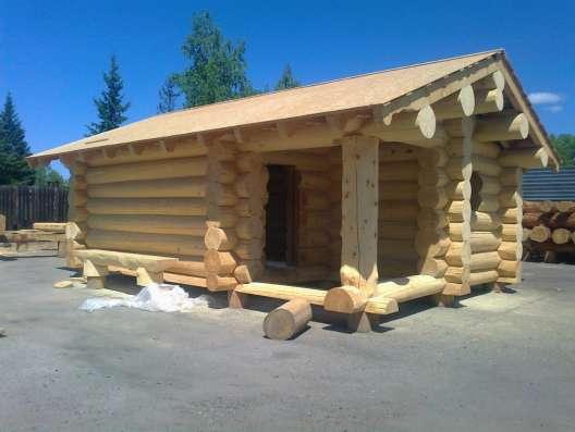 Дома рубленные и оцилиндрованные, пиломатериал в Абакане Фото 3