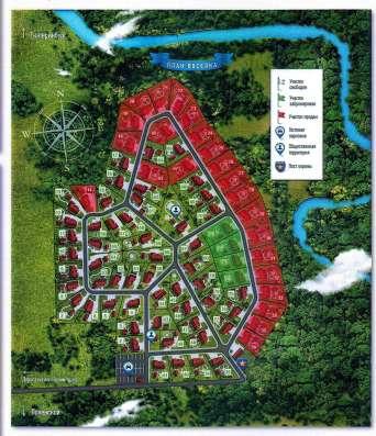 Земельный участок в коттеджном посёлке