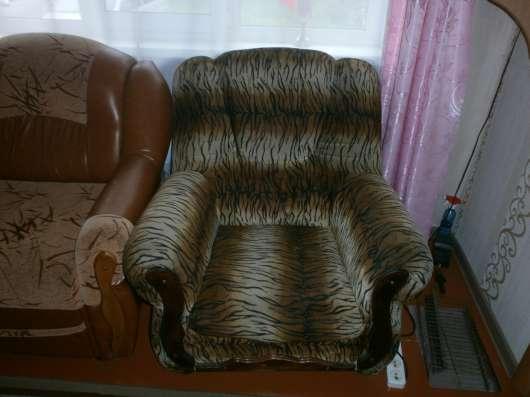 Продам Кресло (цвет Тигровый), в Хорошем состоянии в Киселевске Фото 1