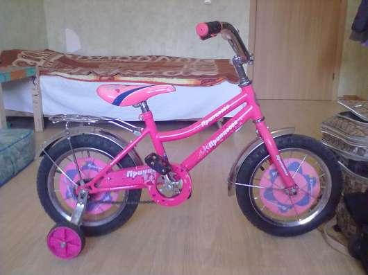 Велосипед для девочки 4-6 лет