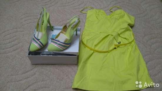 Платье летнее (новое) и Босоножки летние oggi