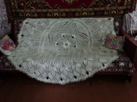 Скатерть спицами в Саранске Фото 1