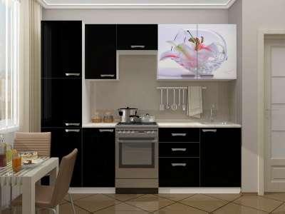 Кухни от 1600мм Фотопечать, МДФ,