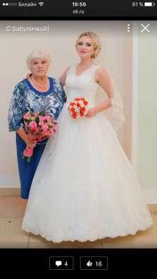 Шикарное свадебное платье в Москве Фото 1