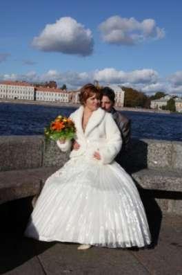 Свадебное платье очень красивое в Санкт-Петербурге Фото 1