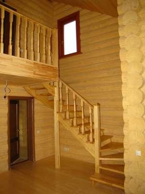 Деревянный дом из бревна под ключ. Проект сделаем бесплатно
