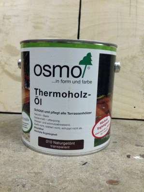 Масло osmo 010 для термодревесин