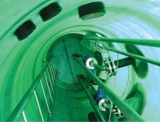 Стальные канализационные лестницы-стремянки для колодцев