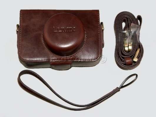 Чехол для Panasonic (Lumix) GX1 14mm темно-коричневый