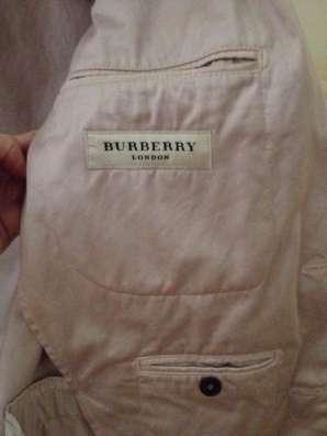 Burberry пиджак оригинал мужской в Москве Фото 2