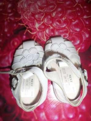 Пинетки новые и сандали белые в Санкт-Петербурге Фото 3