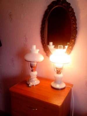 лампа настольная зик винтажная Завод им. Калинина лампа