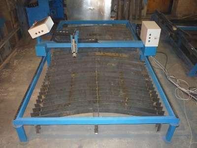 Установка плазменной резки металла с ЧПУ