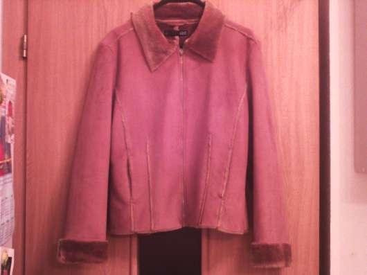 Лёгкая, тонкая весенняя курточка из искусственного меха