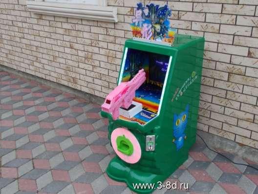 Аттракцион, детский игровой автомат Атака монстров
