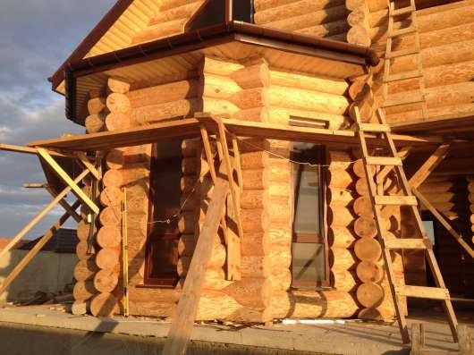 Дома рубленные и оцилиндрованные, пиломатериал в Абакане Фото 6