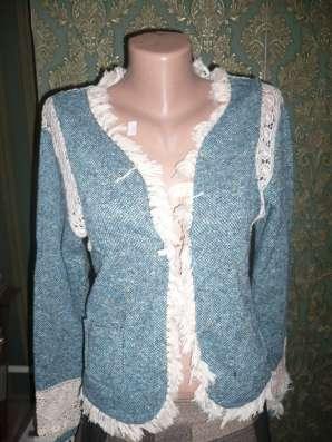 Пиджак, размер 42-44, синий, очень стильный