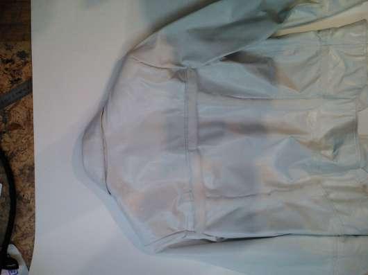 Куртка кожаная женская белая