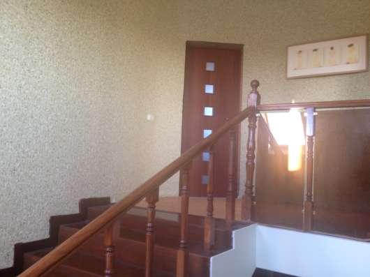 Коттедж 3 этажа из красного кирпича в Набережных Челнах Фото 2