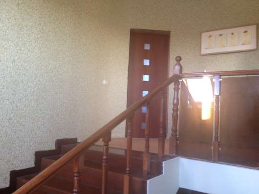 Коттедж 3 этажа из красного кирпича