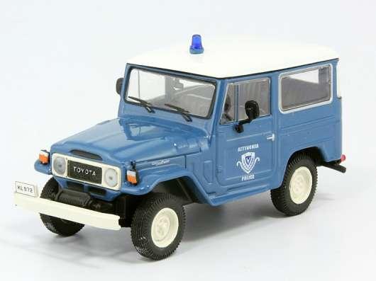 полицейские машины мира №18 TOYOTA LAND CRUISER FJ40