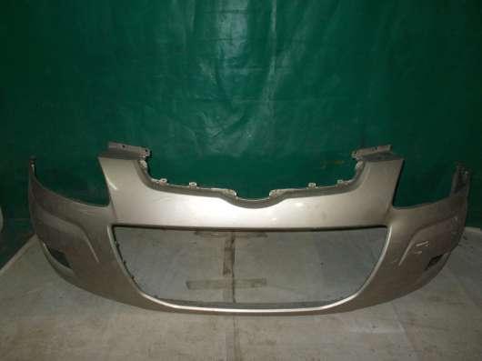 Передний бампер на Hyundai Matrix