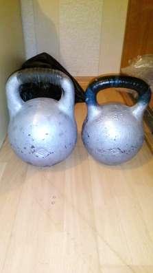 Продаю две гири 16 и 24 кг в г. Минск Фото 1