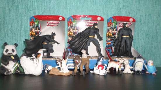 Коллекция игрушек Schleich из каучука