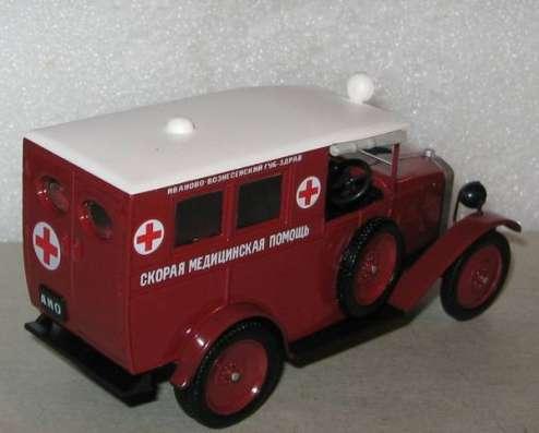 автомобиль на службе №32 АМО-Ф-15 Скорая медицинская помощь в Липецке Фото 4