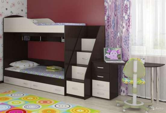 Кровать двухъярусная # 12