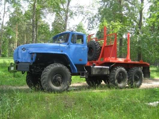 Лесовоз Урал 55571 с консервации капремонт 2016 г. пробег 7 т.км