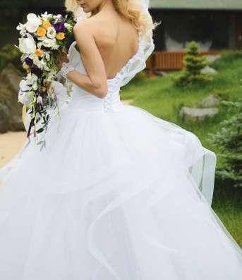 Свадебное платье принцессы