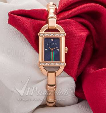 Часы Gucci Tornabuoni 6800L Diamond Gold Dia