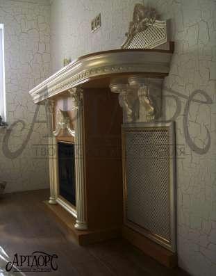Оформление камина (дровяные, из кирпича, био и фальш-камины)
