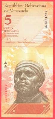 Венесуэла 5 боливаров 2009 г