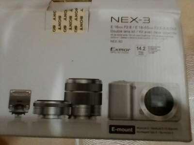 цифровой фотоаппарат Sony SONY NEX-3