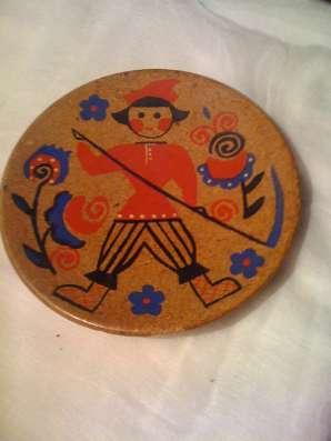 тарелка декоративная пробка