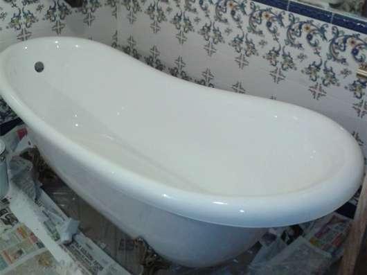 Реставрация ванн в г. Псков Фото 1