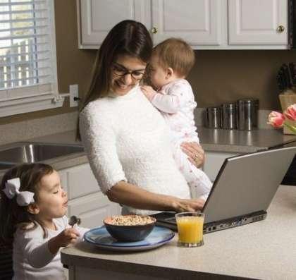 Работа для домохозяек в сети интернет (удаленно, на дому)