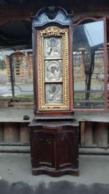 Старинный иконостас-Триптих-,оклады-серебро 84*,XIXв в Москве Фото 4