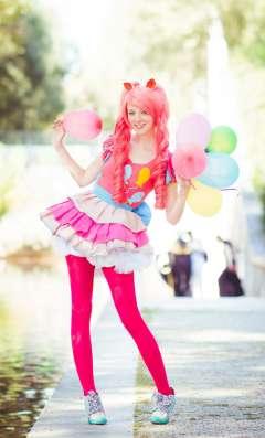 Пони! Аниматор Пинки Пай на день рождения девочки!