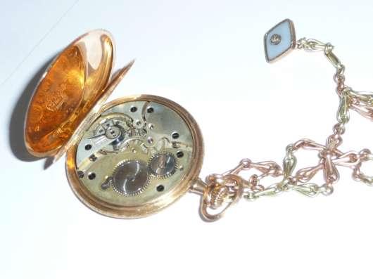 Карманные часы Louis Audemars. 1850 год. Золотой корпус в г. Самара Фото 1