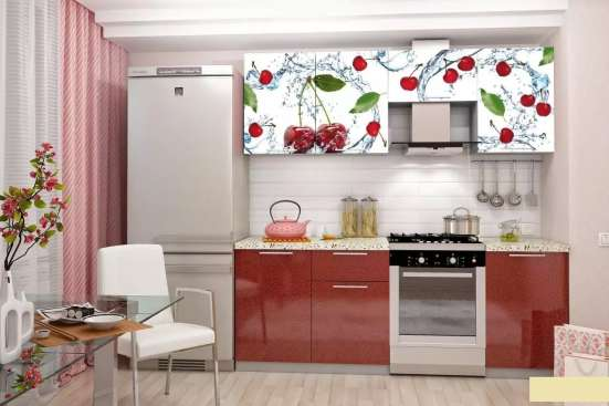 Кухонный гарнитур Олива Вишня