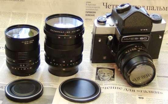 Фотоаппарат Киев 60 со сменной оптикой