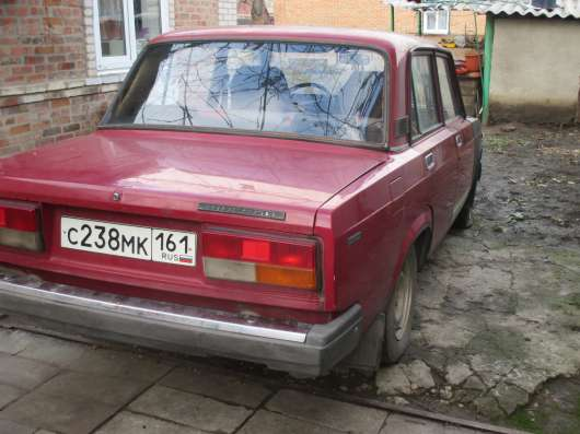 Продажа авто, ВАЗ (Lada), 2107, Механика с пробегом 80000 км, в Таганроге Фото 4
