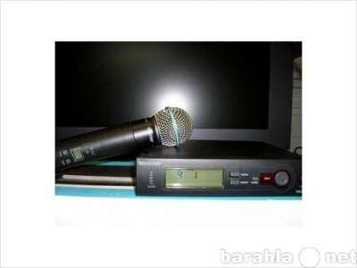 SHURE SLX24/BETA58 микроф.радиосистема