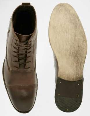 Великолепные кожаные ботинки 47 размера Английская компания в Москве Фото 2