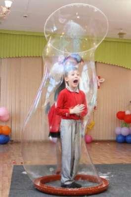 Детский день рождения, шоу мыльных пузырей в Нижнем Новгороде Фото 4