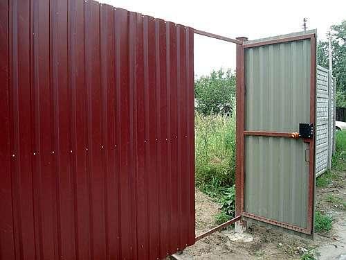 Ворота и калитки в Курске